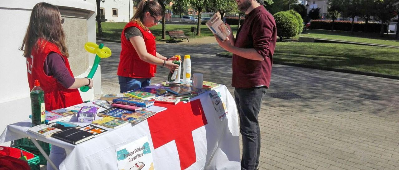Una anterior campaña en la calle de Cruz Roja.