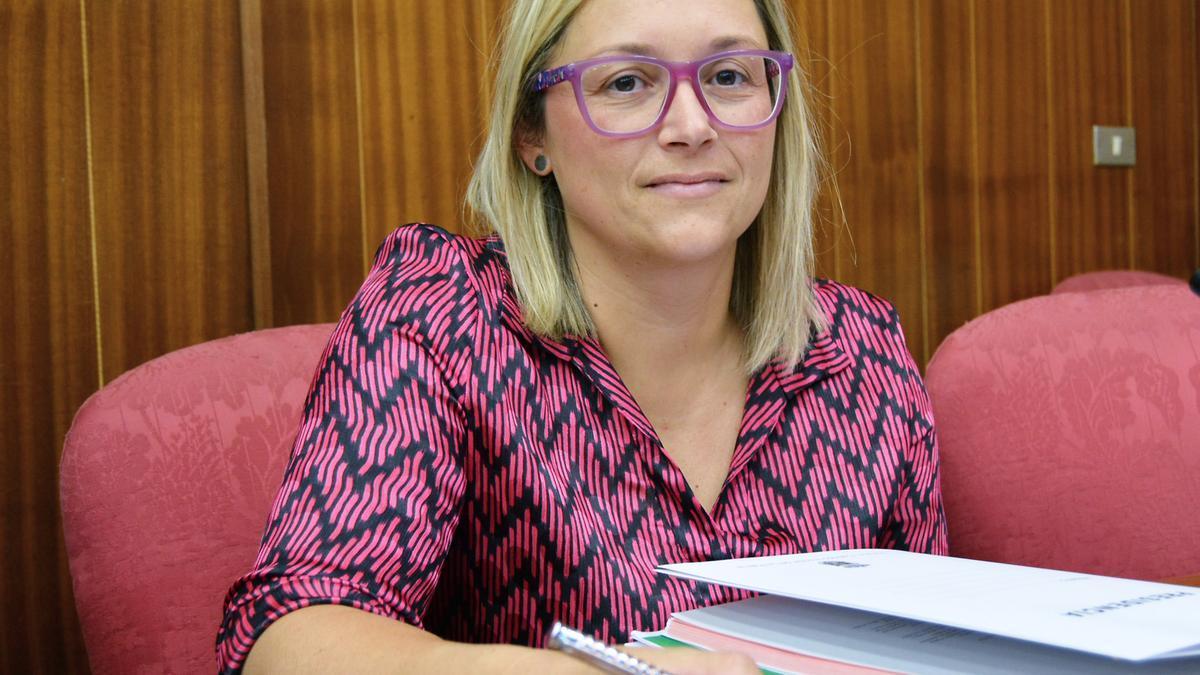 La consejera de Hacienda y Recursos Humanos, Nayra Castro.