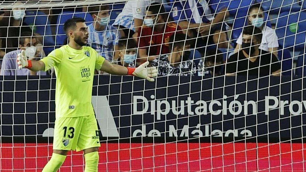 Dani Martín celebró su debut como jugador del Málaga con una victoria ante el Girona.