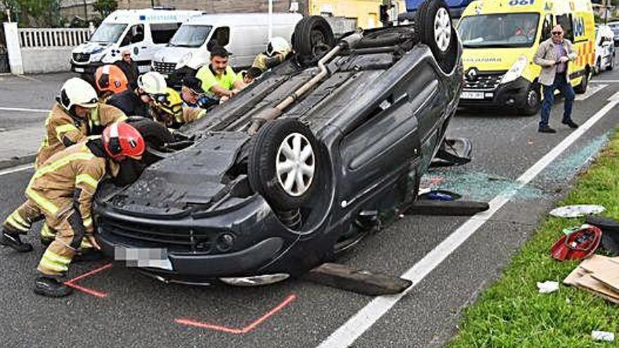 Los carreteras de A Coruña registran un accidente con heridos cada 100 minutos