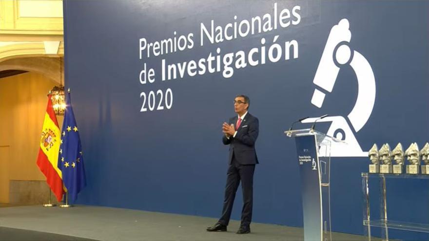 José Manuel López Nicolás imparte la conferencia de divulgación científica de la entrega de Premios Nacionales de Investigación 2020