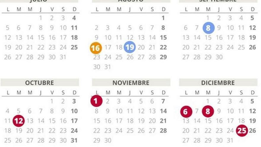 Calendario laboral en Málaga 2021: los puentes que llegan hasta final de año