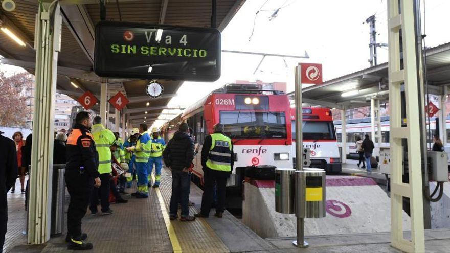 Dados de alta los dos heridos graves en el accidente de tren en Alcalá