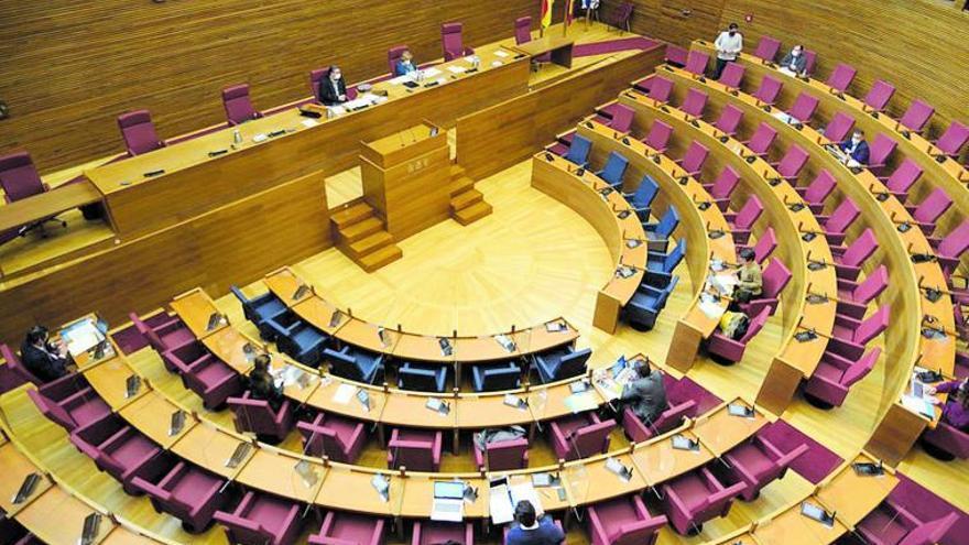 Invierno legislativo en las Corts