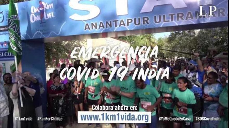 Una ultramaratón solidaria por la India y en directo