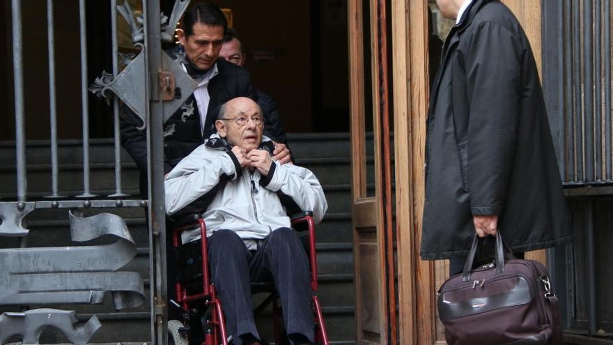 Millet demana l'indult de la seva condemna pel cas Palau
