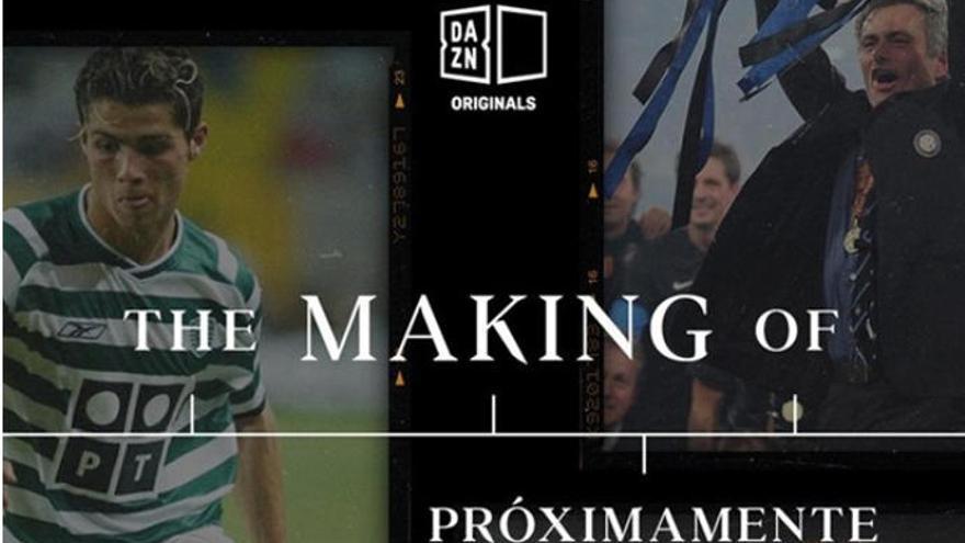 'The Making Of', retratos de Cristiano Ronaldo, Neymar o Mourinho