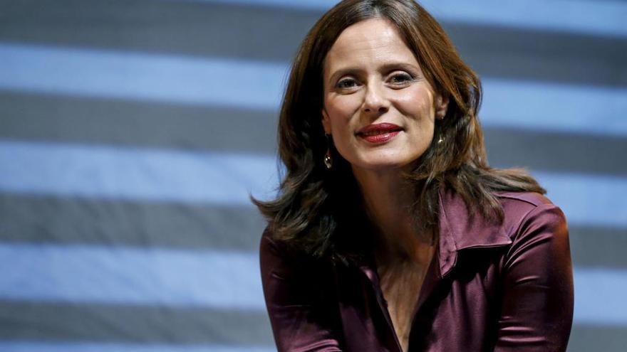 Aitana Sánchez Gijón actúa en el teatro romano de Sagunt