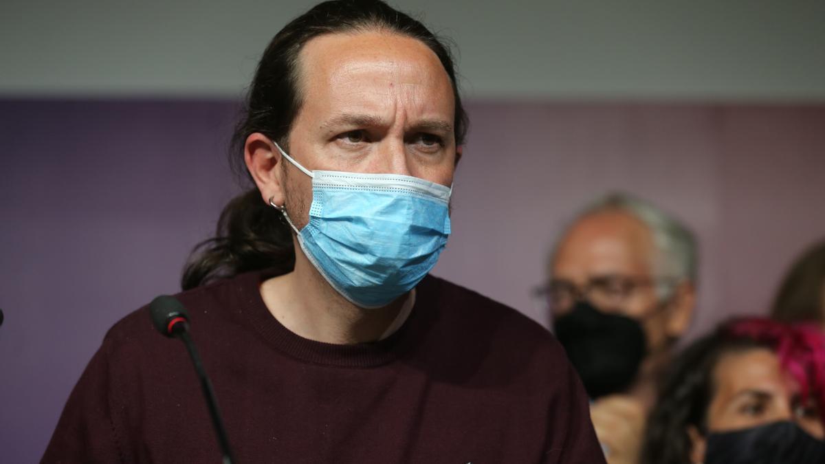 El exsecretario general de Podemos, Pablo Iglesias.