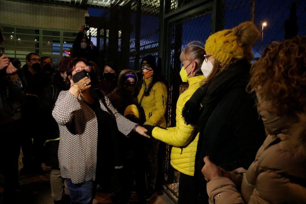 Dolors Bassa torna a ingressar a la presó del Puig de les Basses
