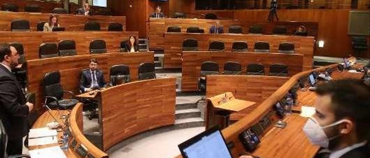 Último Pleno celebrado en la Junta General.