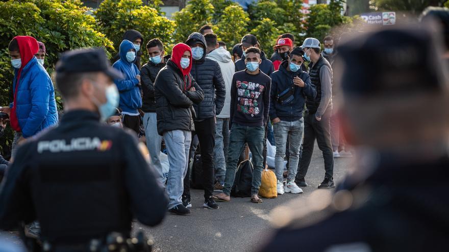 Más de 23.500 migrantes llegaron a Canarias durante el año Covid