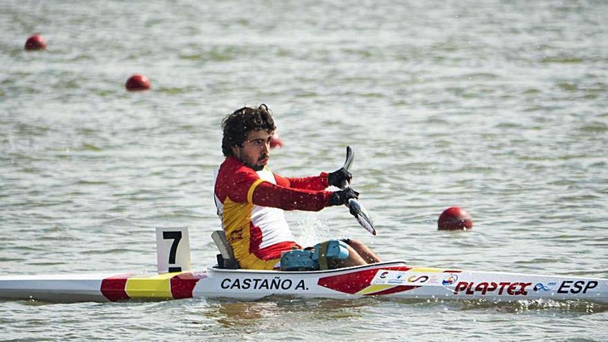Adrián Castaño consigue el billete para los Juegos de Tokio en paracanoe