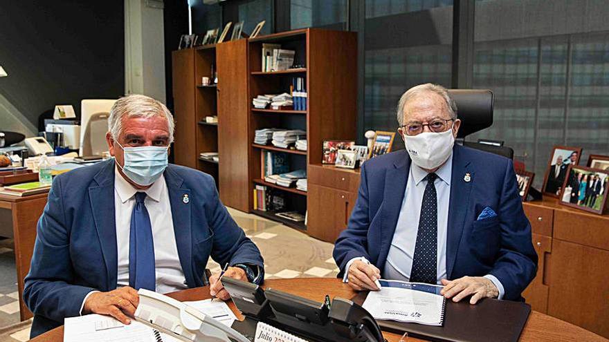 Los veterinarios gallegos firman con AMA