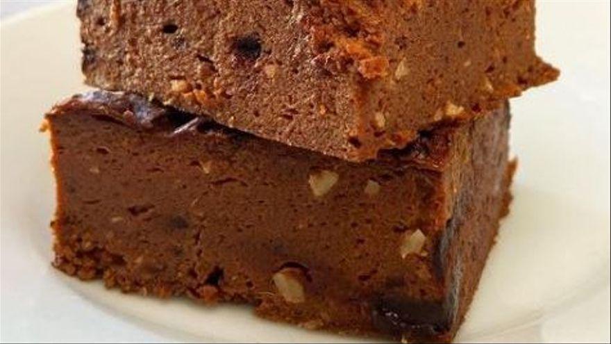 Descubre cómo preparar este brownie que no engorda