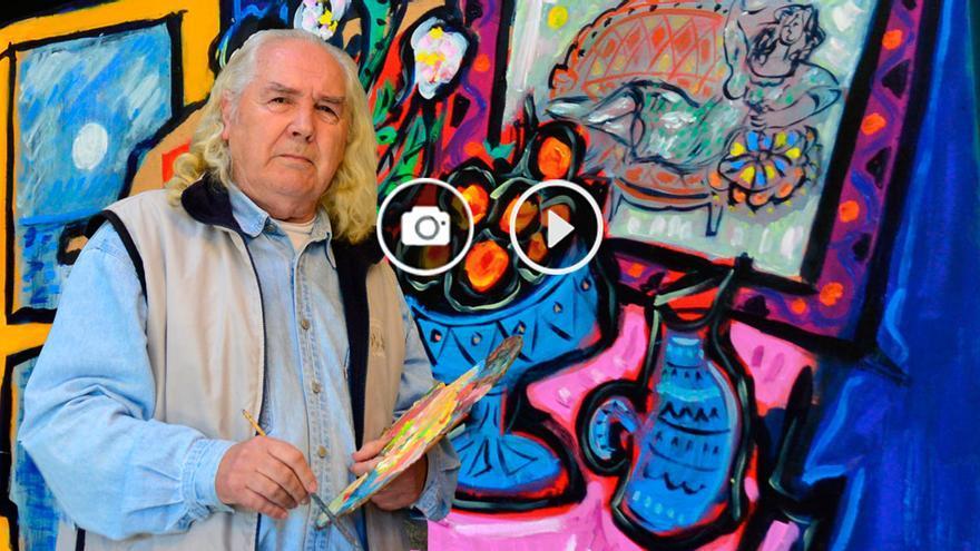 """Pintar abstracto sería traicionarme"""