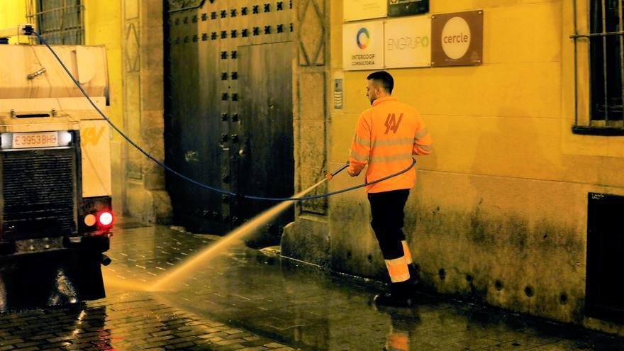 Catalá (PP) critica que se rechace su propuesta de aumentar el baldeo y desinfección