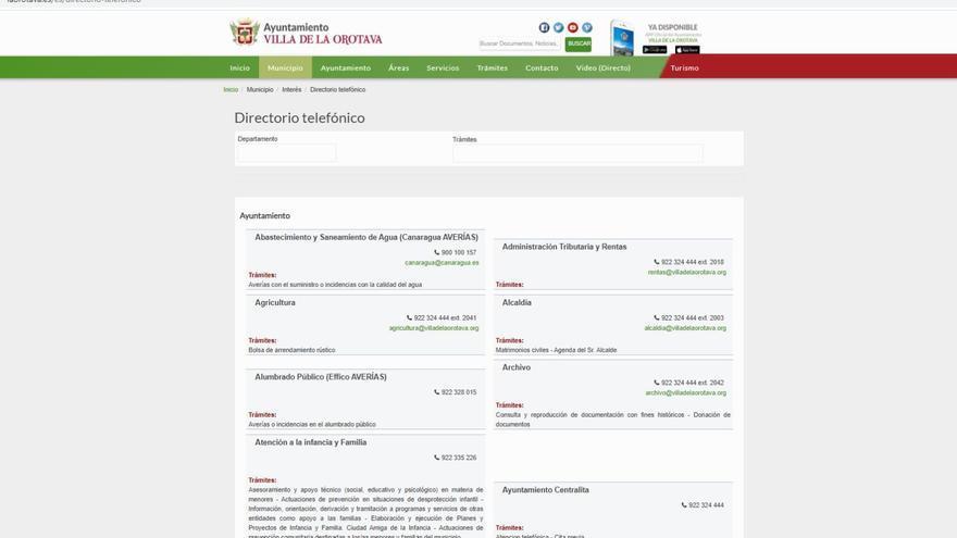 El Ayuntamiento de La Orotava facilita el acceso a los trámites telefónicos