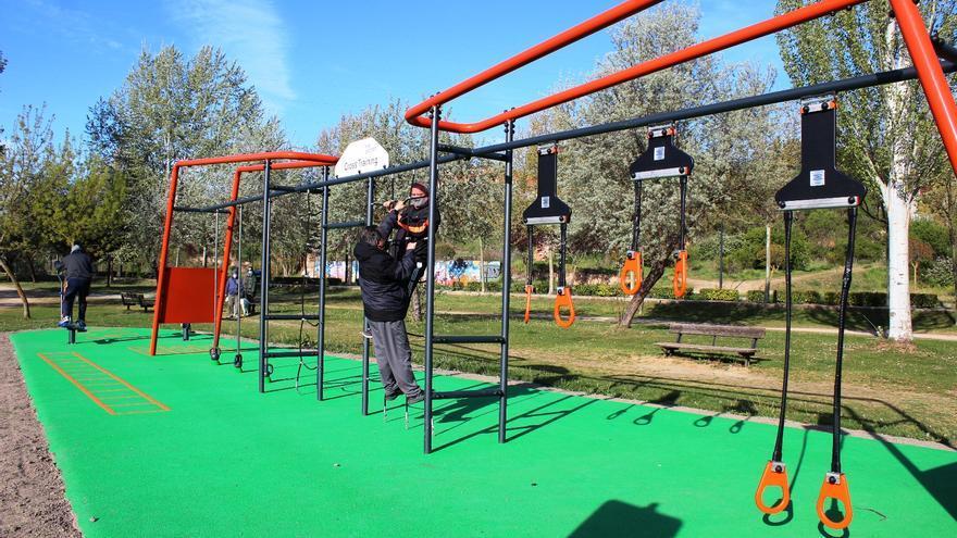 Tres Árboles y Los Pelambres, gimnasios al aire libre en Zamora gracias a sus nuevos parques biosaludables