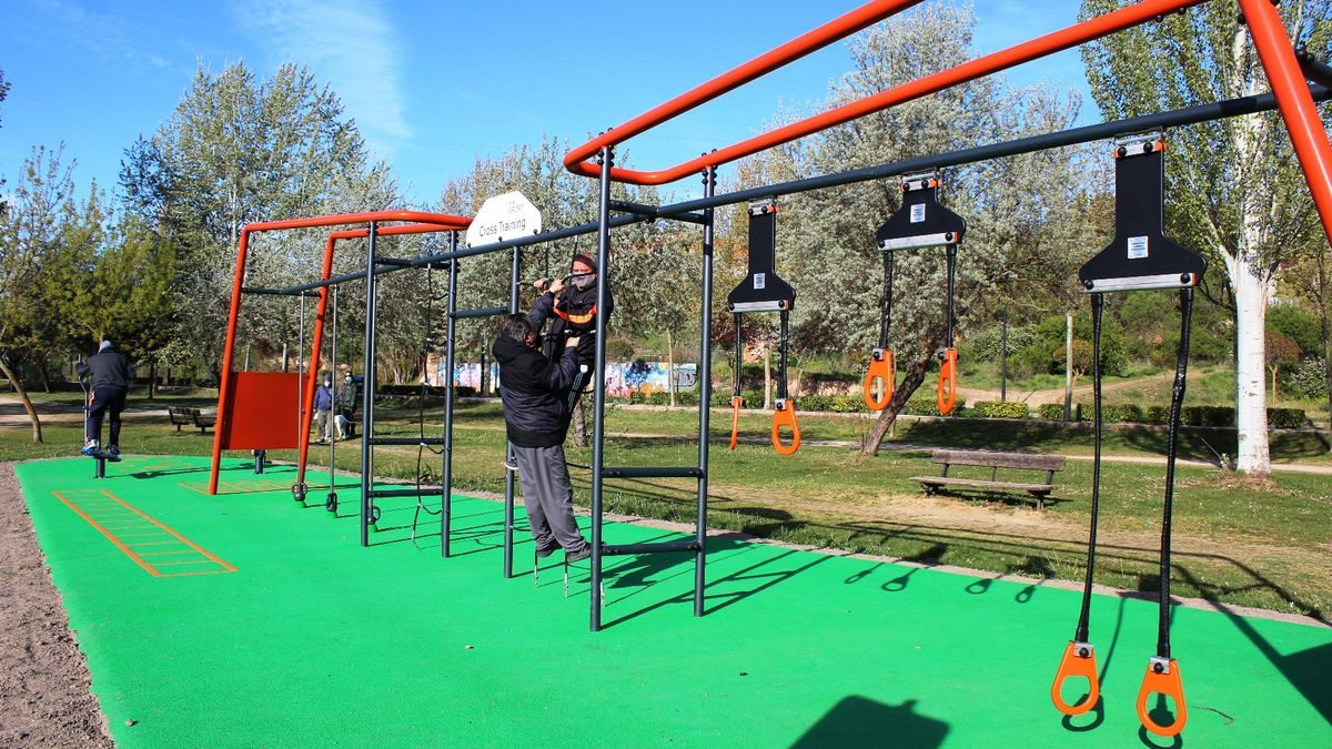 Nuevo parque biosaludable en Las Pallas