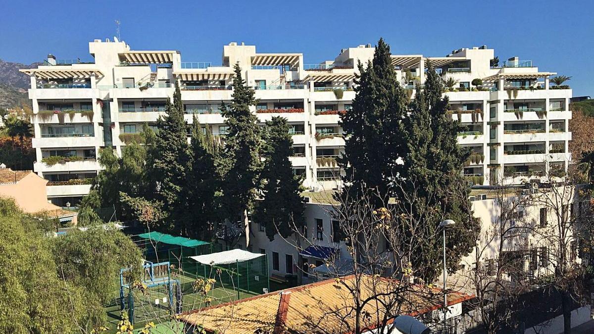 La urbanización Jardines del Príncipe, que alberga los siete pisos exclusivos.