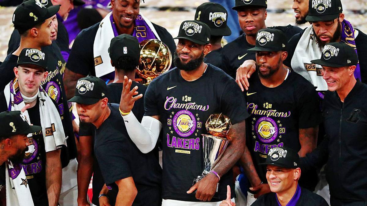 Los Lakers vuelven a  ganar el anillo