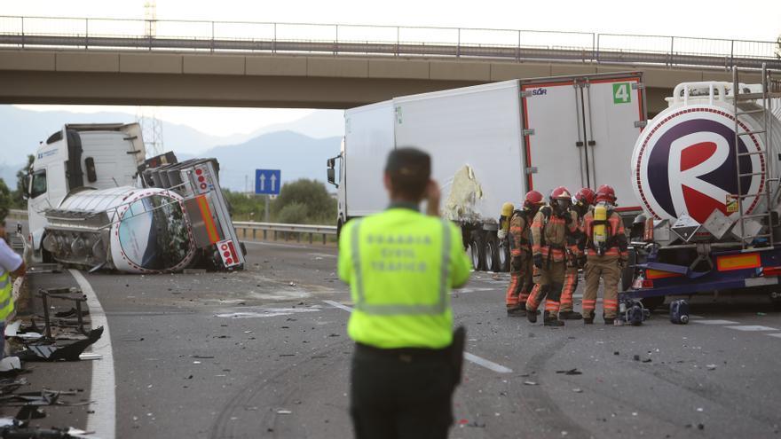 La AP-7 ya deja más accidentes de tráfico en Castellón que la nacional 340