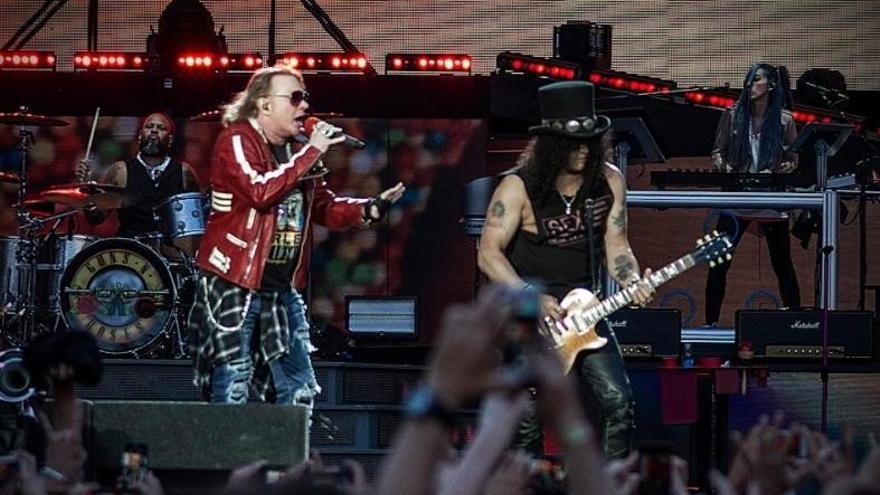 Guns N' Roses regresa a España en mayo de 2020