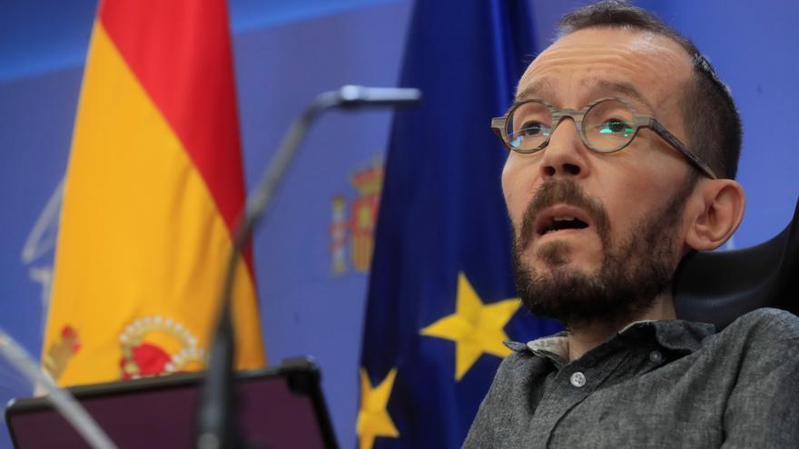 """Echenique afirma que el precio de la luz se podría limitar """"mañana"""" con un decreto"""
