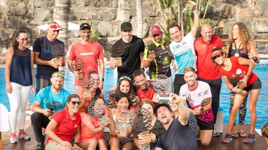 Éxito total en la I Swimrun Lanzarote, el pasado sábado