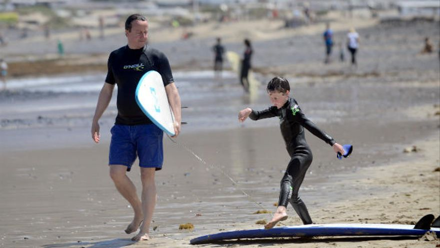 David Cameron, del sol a la tormenta