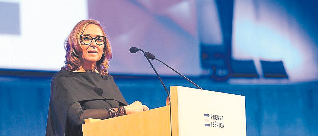 Mayte Pérez resalta el valor de Prensa Ibérica «al vertebrar el territorio»
