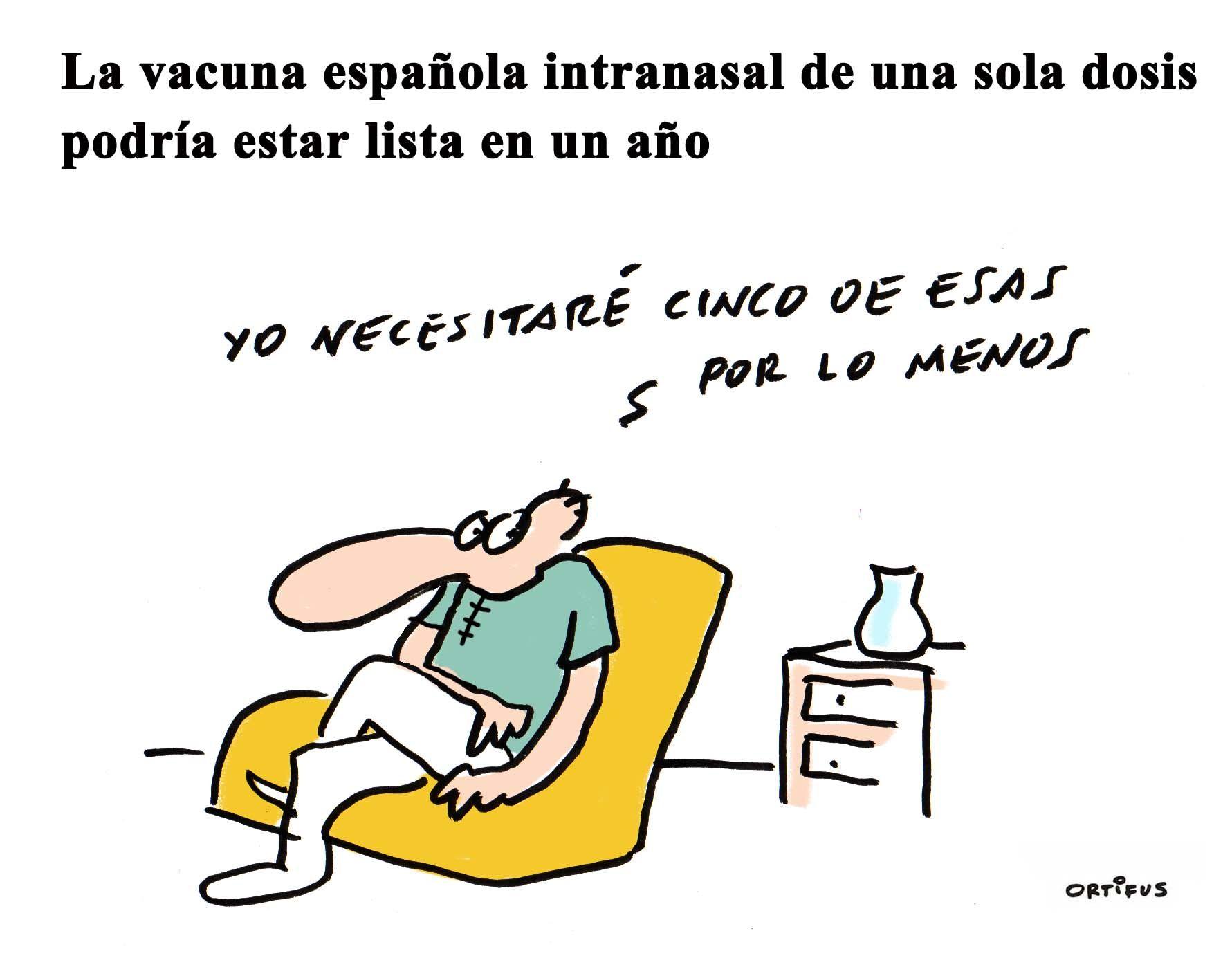 La vacuna española intranasal de una sola dosis podría estar lista en un año
