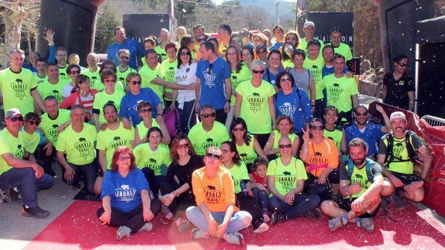 Más de 100 voluntarios relanzan II Jabalí Trail de Algimia de Almonacid