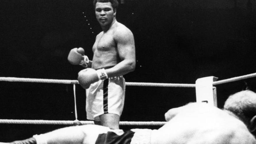 Nombran a Muhammad Ali 'Boxeador del Año 1966' medio siglo después