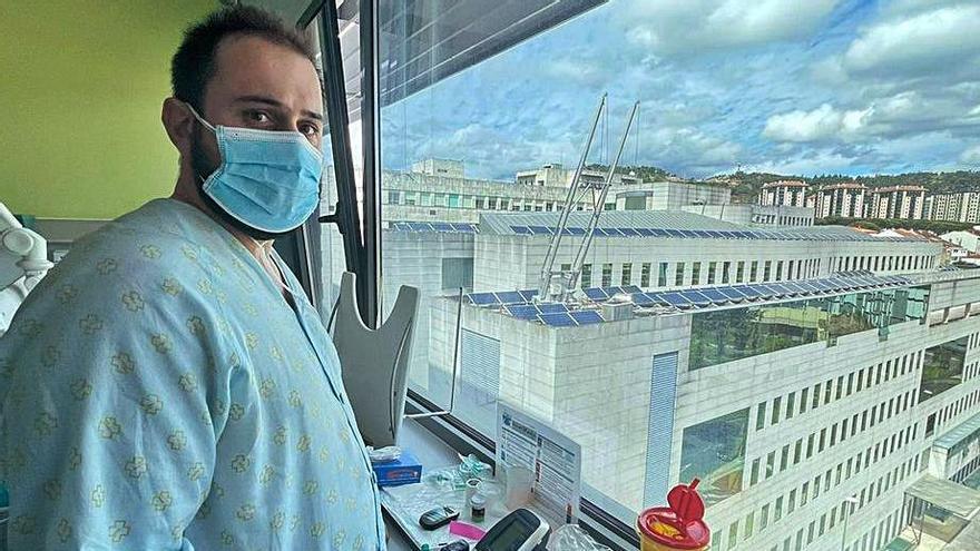"""31 años, el paciente COVID más joven: """"Nunca tuve ni gripe, esto no es broma"""""""