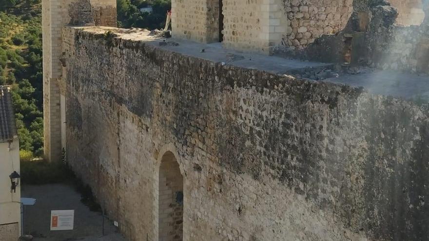 Concluyen las obras de restauración de la Cámara y Torre del Homenaje del Castillo de Hornachuelos