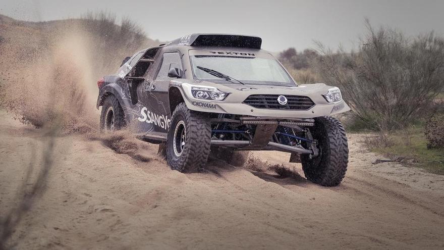 Fuertes/Vallejo (Rexton DKR) al Dakar 2019