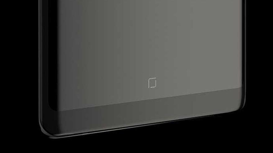 El Galaxy Note 9 tendrá bajo la pantalla un sensor de huella