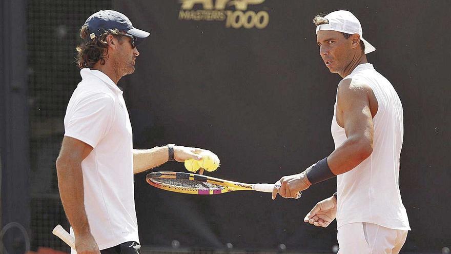 "Rafa Nadal vuelve ""sin grandes expectativas"""