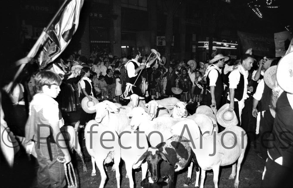 HOGUERAS. 1987