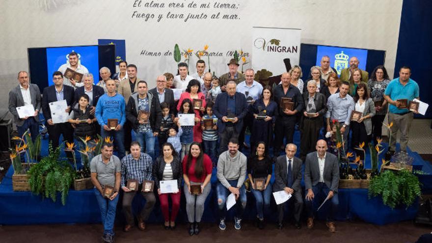 Lomo El Chorrito y Eidan recogen el premio de mejor queso y vino de Gran Canaria