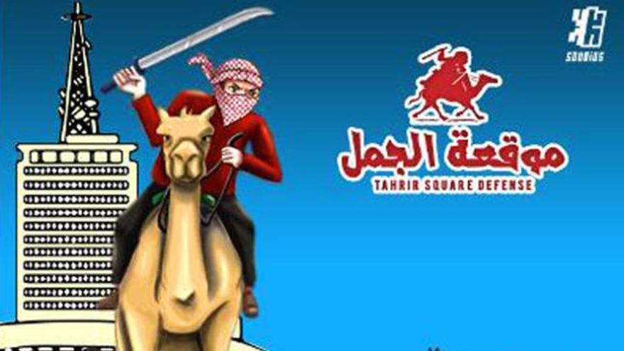 """La """"batalla del camello"""": de Tahrir a juego de Facebook"""