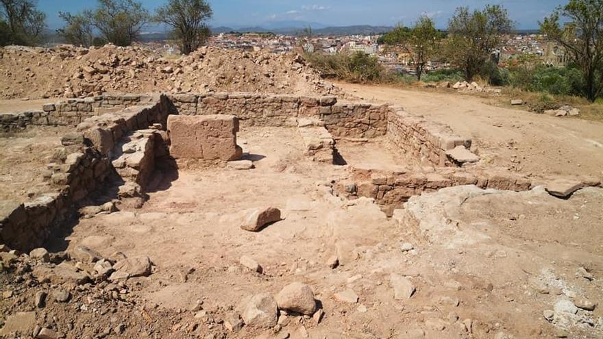 Les restes trobades a Santa Caterina podrien correspondre a una església del segle XIII