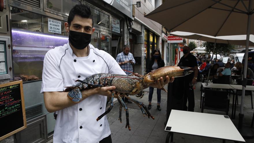 """Un bugre de 7,2 kilos en La Arena: """"Es una rareza"""""""