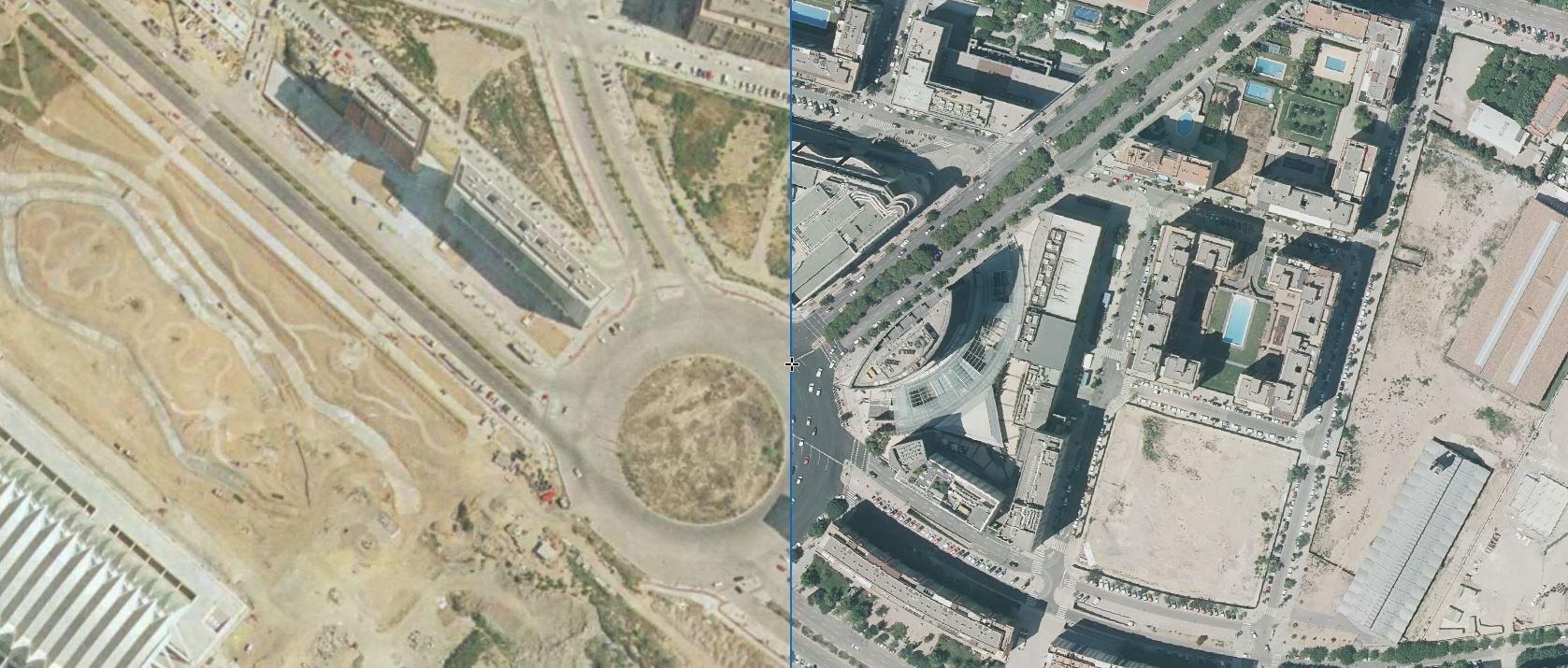 El Corte Inglés de avenida de Francia, antes y después