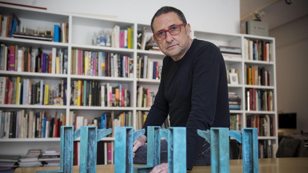 El diseñador valenciano Daniel Nebot.