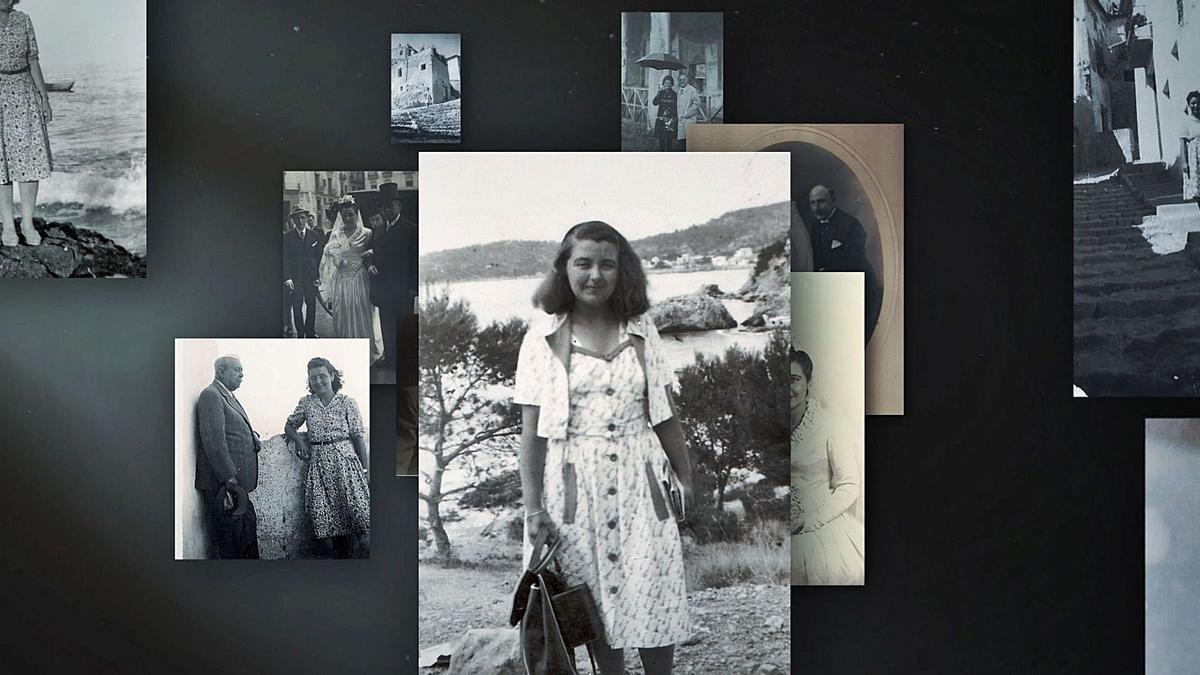 Fotograma del documental «Carmelina, mar i cel», d'À Punt.