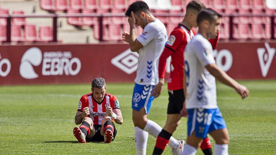 El Tenerife cede en Logroño y demuestra que no da para más