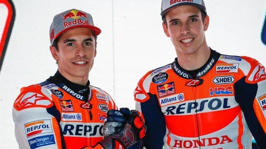 Los hermanos Márquez, ansiosos por debutar en Jerez